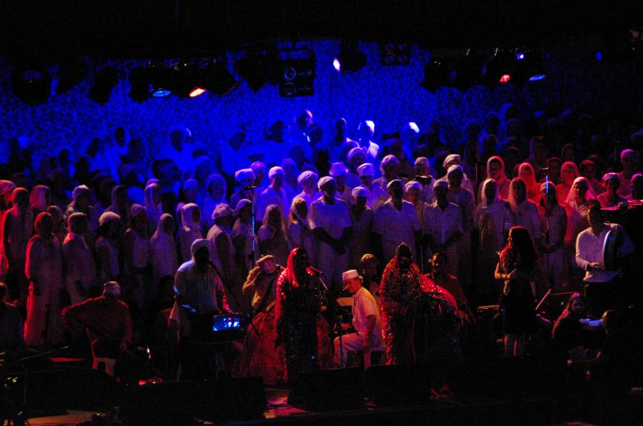 Woodford closing ceremony 2010/11 - Choir